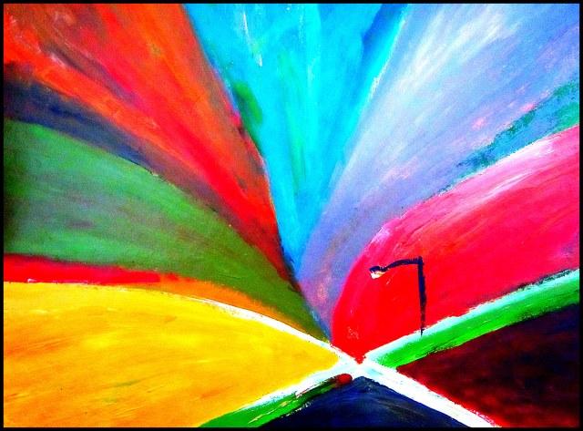 Rainbow Crossroad
